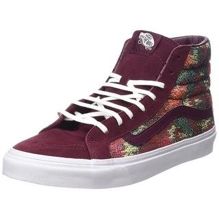Vans Mens Sk8-Hi Slim Hight Top Lace Up Fashion Sneaker