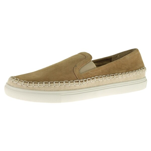 Steve Madden Womens Marinner Loafers Suede Espadrille - 9 medium (b,m)