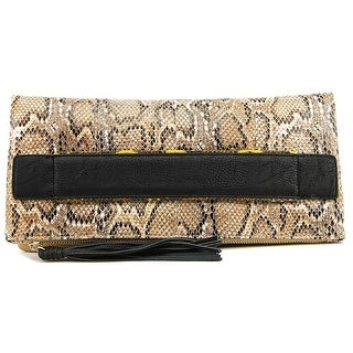 BCBGeneration Ready To Roll Clutch Women Synthetic Clutch - Beige