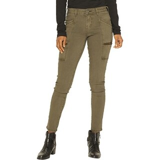 Silver Jeans Co. Womens Aiko Skinny Jeans Cargo Straight Fit