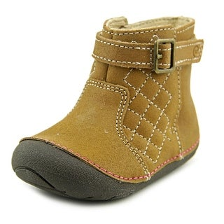 Stride Rite Winifred W Round Toe Synthetic Bootie