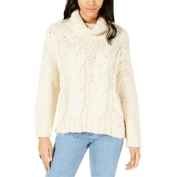 Moon River Womens Weatheral Knit Sweater. Opens flyout.