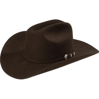 Stetson Cowboy Hat Mens 4X Felt Cattleman Corral Choc
