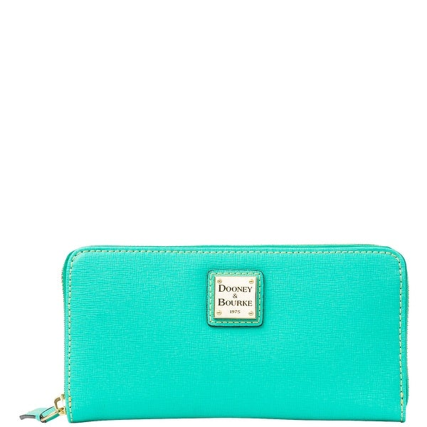 Dooney & Bourke Saffiano Large Zip Around Wallet (Introduced by Dooney & Bourke at $138 in Jan 2014)