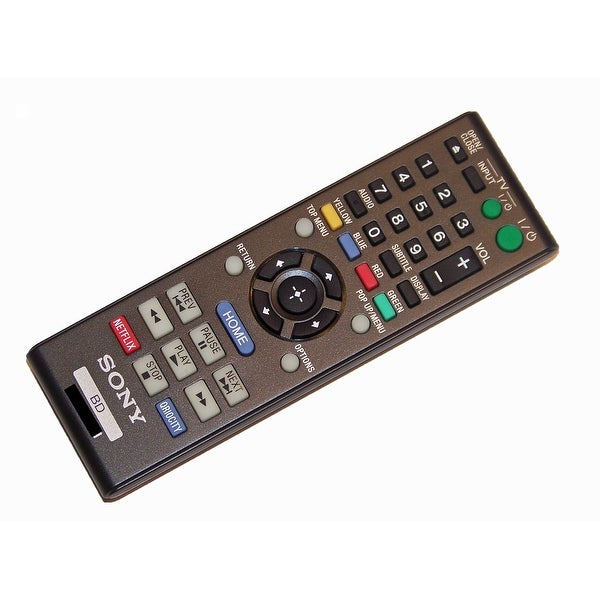 OEM Sony Remote Control Originally Shipped With: BDP-BX38, BDP-BX58, BDPBX38, BDPBX58, BDPS380, BDPS380