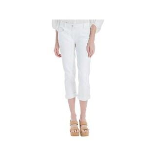 Max Studio Womens Skinny Jeans Twill Mid-Rise