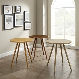 Link to Corvus Lille Mid-Century Modern Bamboo Dining Site Table Similar Items in Dining Room & Bar Furniture