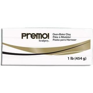 White - Premo Clay 1Lb