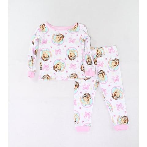 Disney Junior Baby Girls Sleepwear Pink Size 2T Fancy Nancy Graphic