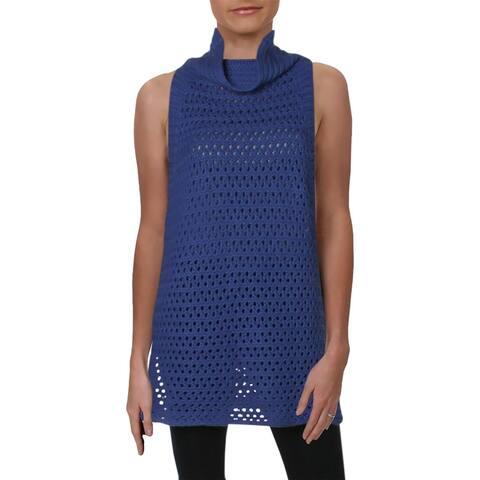 Free People Womens Pullover Sweater Tunic Sleeveless