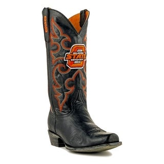 Gameday Boots Mens College Team Oklahoma State Black OSU-M095-1