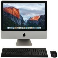 "Apple Mb324Ll/A/C2D/2.66/4Gb/250Gb/10.11 20"" Refurbished Imac(R) Desktop Computer"