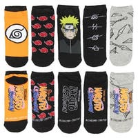 Naruto Womens Low Cut Socks - 5 Pack