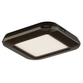 "Vaxcel Lighting X0022 Instalux? 3"" Wide Low Profile LED Under Cabinet Puck Light"