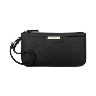 Nine West Womens Wristlet Handbag Faux Leather Clutch - LARGE