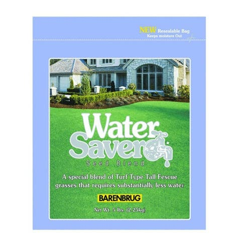 Barenbrug 11110 Water Saver Tall Fescue Grass Seed Blend, 10 Lbs