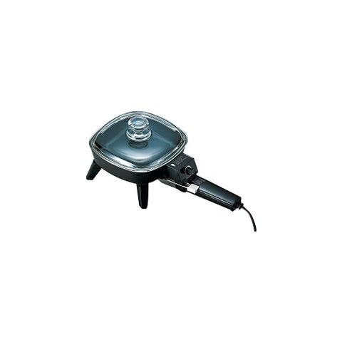 BRENTWOOD BTWSK45B Electric Skillet with Glass Lid