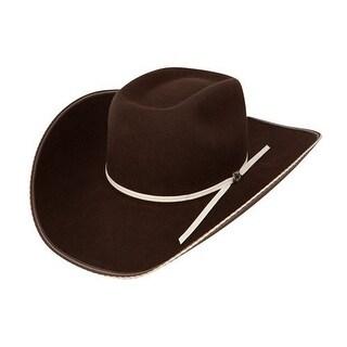 Resistol Cowboy Hat Mens Snake Eyes Felt Cordova