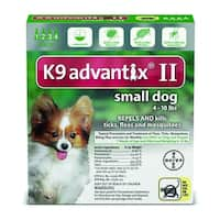 K9 Advantix II 4-10 Lbs. 4 Pack