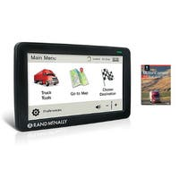 Refurbished Rand McNally TND730LM with 2018 Deluxe MCR Atlas Rand McNally TND730LM