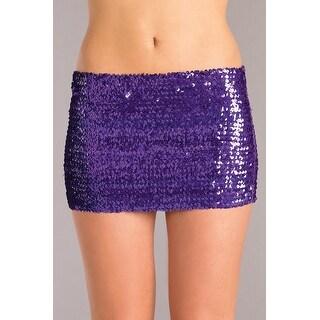 BW1677PR Skirt - Color - Purple - Size - X Large