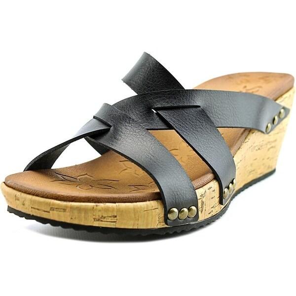 Skechers Beverlee Cactus Flower Women Open Toe Leather Slides Sandal