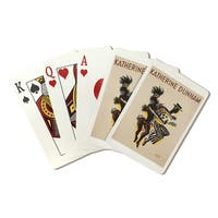 Katherine Dunham (Colin) 1914 - Vintage Ad (Poker Playing Cards Deck)
