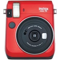 Fujifilm 16513918 Instax(R) Mini 70 Instant Camera (Passion Red)