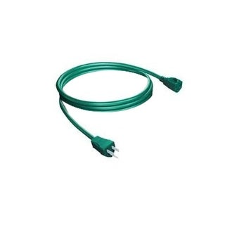 Westinghouse Green Outdoor Grounded Extension Power Cord - 8'