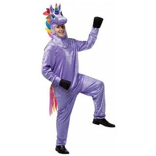 Adult Unicorn Costume, Multicolor - One Size