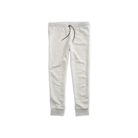 Tommy Hilfiger Womens Heathered Athletic Jogger Pants