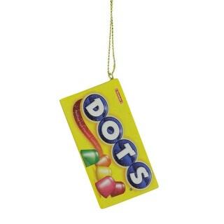 "2.75"" Candy Lane Tootsie Roll DOTS Original Gumdrop Candies Christmas Ornament"