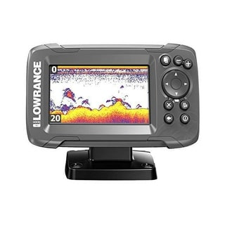 Link to Lowrance 000-14012-001 HOOK2-4X Fishfinder with 4 Inch Display Similar Items in Trolling Motors