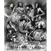 ''All That's Jazz'' by Wishum Gregory Music Art Print (24 x 20 in.)