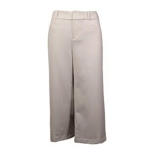 INC International Concepts Women's Regular Fit Culottes Pants