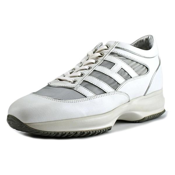 1ee854a155 Shop Hogan Interactive Senza Cinturini Round Toe Synthetic Sneakers ...