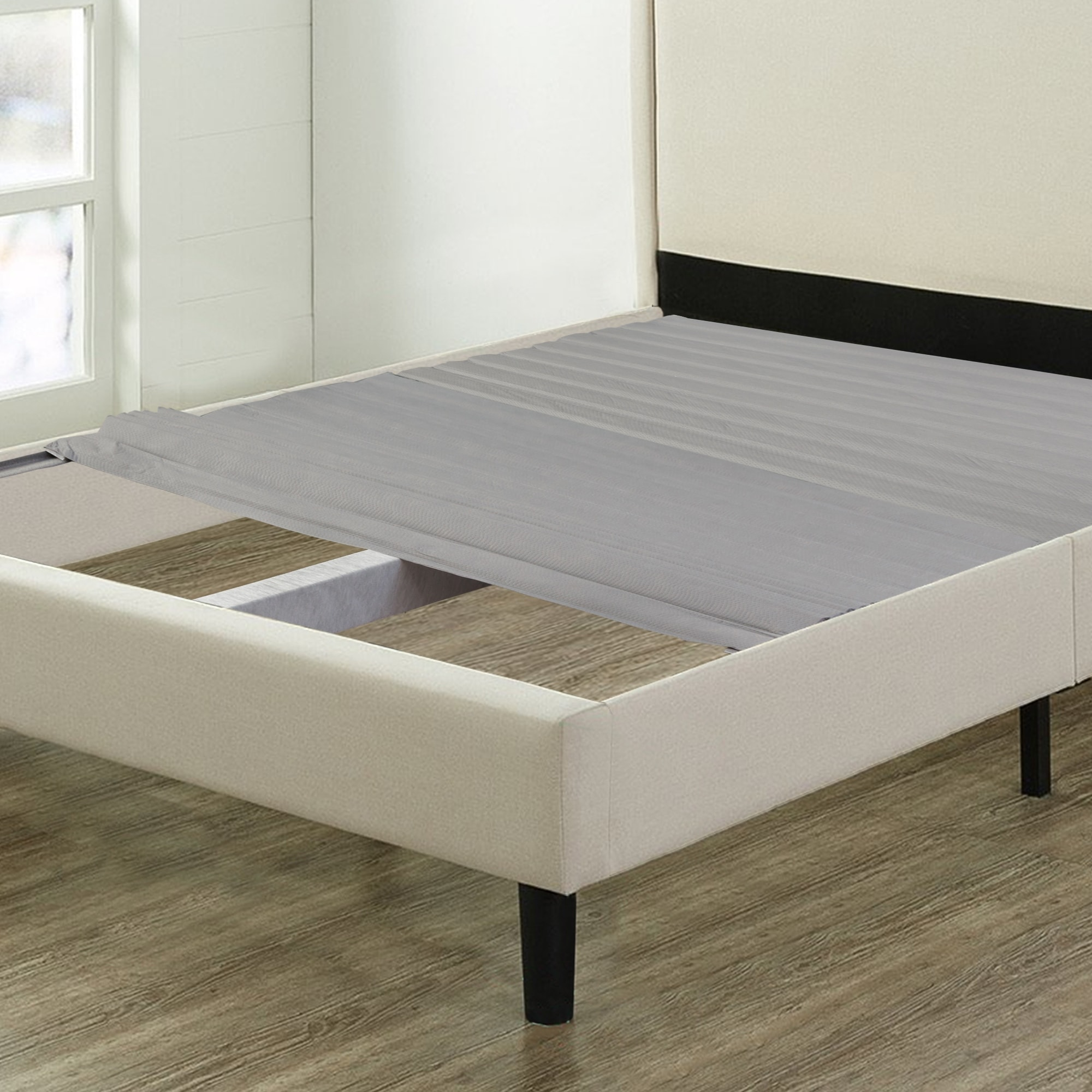 Shop Black Friday Deals On Onetan 0 75 Inch Standard Mattress Support Wooden Bunkie Board Slats With Cover Overstock 25445102