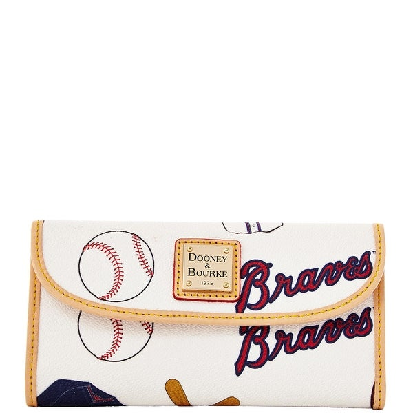 Dooney & Bourke MLB Braves Continental Clutch (Introduced by Dooney & Bourke at $128 in Feb 2014)