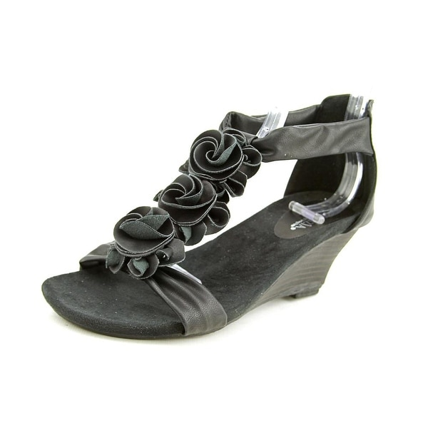Patrizia By Spring Step Harlequin Women Black Sandals