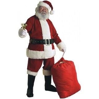 Deluxe Velvet Santa Suit