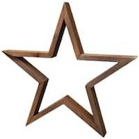 "Jillibean Soup Mix The Media Shaped Wooden Frame-14"" Dark Star"