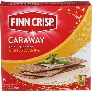 Finn Crisp - Caraway Crisp Bread ( 9 - 7 OZ)