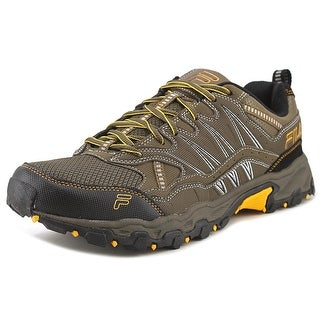 Fila At Peake Men Round Toe Synthetic Brown Trail Running