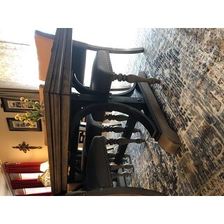 "Grand Bazaar Huron Gray/Charcoal Rug - 7'10"" x 10'6"""