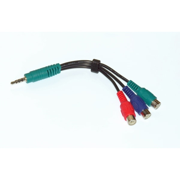 OEM LG Component Audio Video AV Cable Adapter - NOT A Generic: 55LM6400UA, 55LM6400-UA, 55LM6700, 55LM6700UA