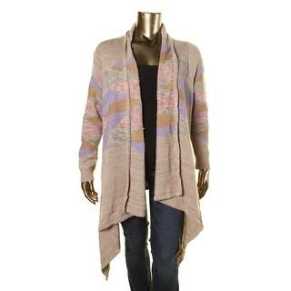 Lauren Ralph Lauren Womens Plus Handkerchief Hem Knit Cardigan Sweater - 1X