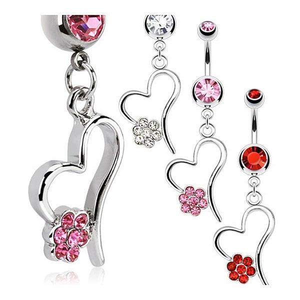 4 Titanium Dipped Heart L Shape Thin Pins Studs Nose Rings 22 gauge 22g