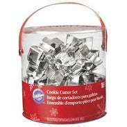Holiday - Cookie Cutter Tub 18Pcs