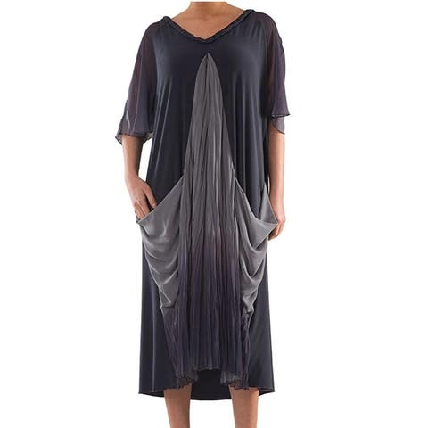 Helenistic Dress - Plus Size Clothing - La Mouette Collection