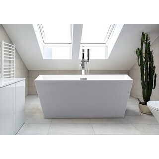 Link to Sophia Freestanding Modern Acrylic Bathtub Similar Items in Bathtubs
